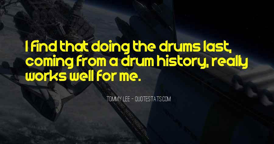Drum Quotes #67032