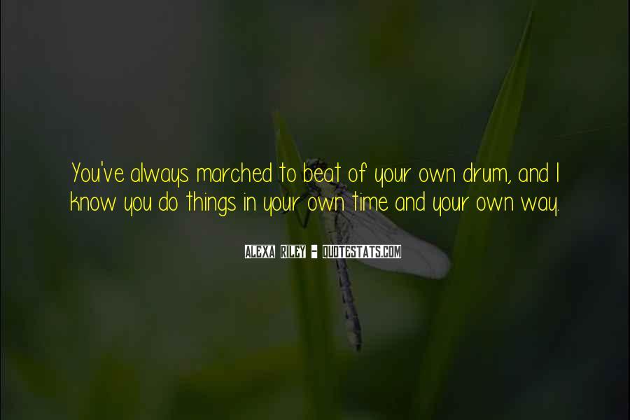 Drum Quotes #93966