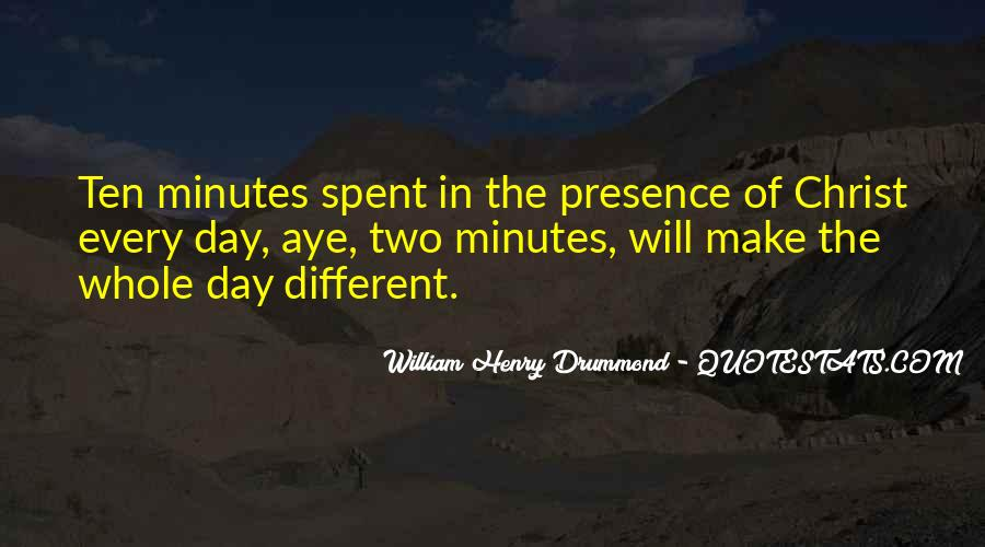 Drummond Quotes #601824