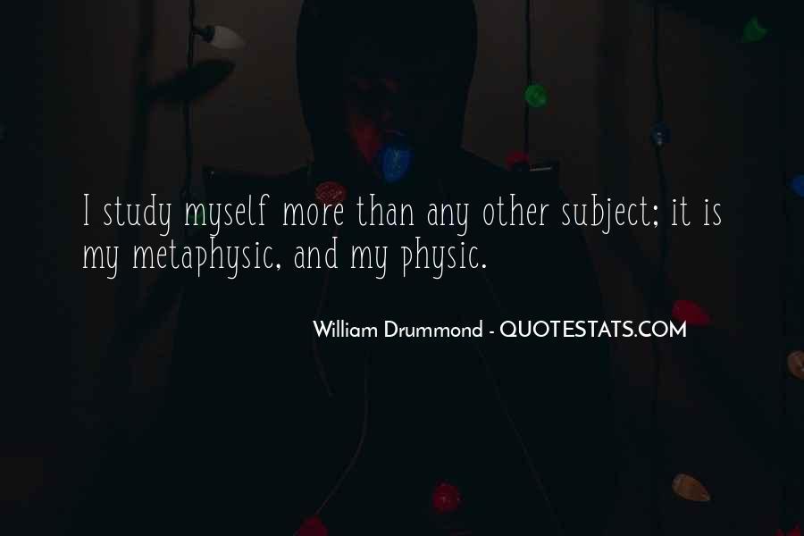 Drummond Quotes #924413