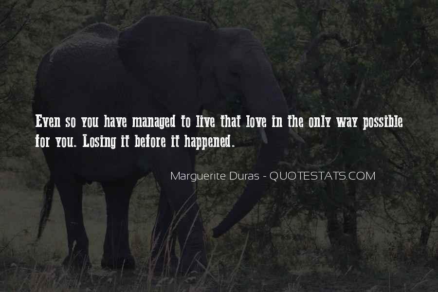 Dry Love Quotes #1241