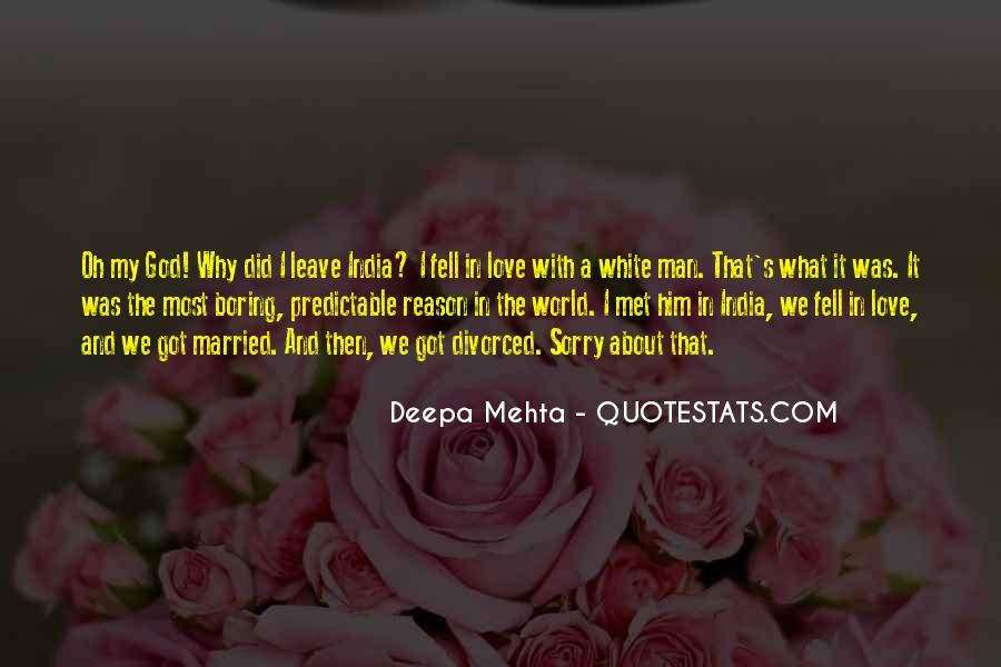 Dry Love Quotes #824