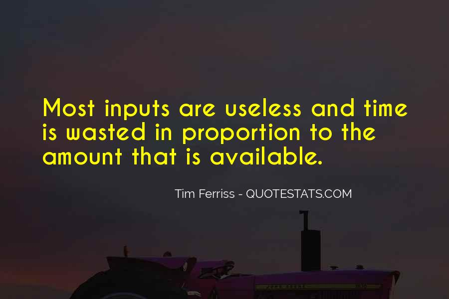 Quotes About Inputs #1328898