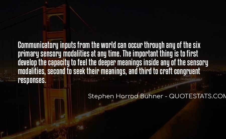Quotes About Inputs #1368797