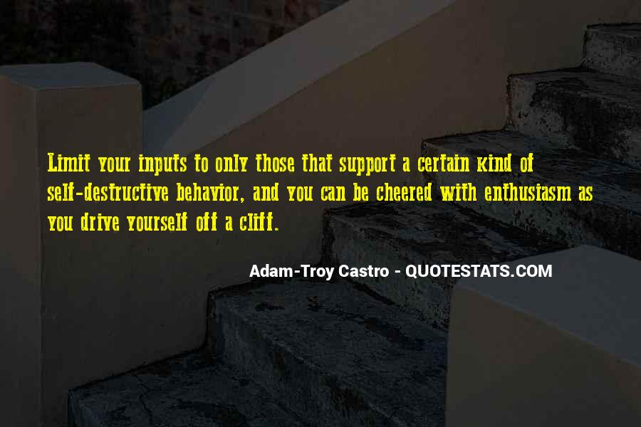 Quotes About Inputs #1420550