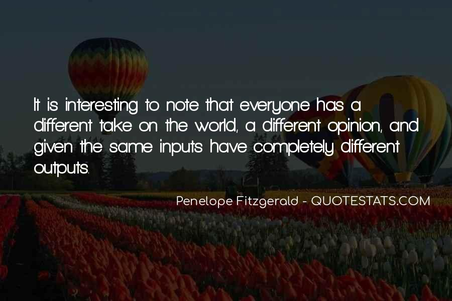Quotes About Inputs #1727109