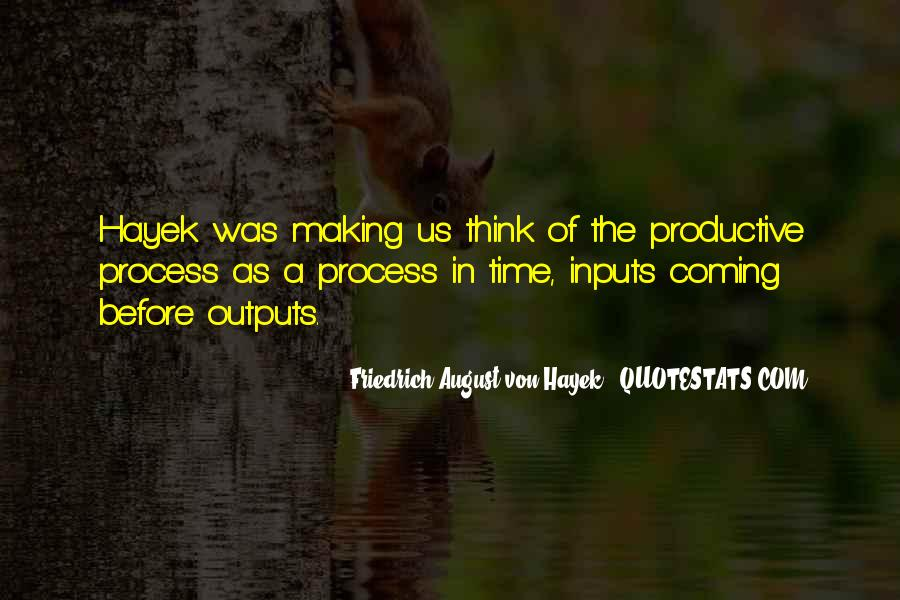 Quotes About Inputs #75726