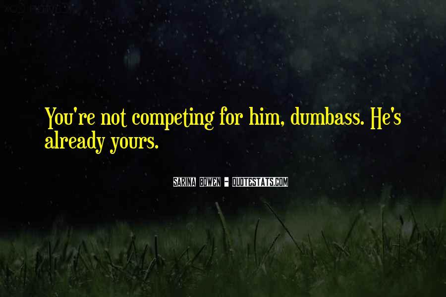 Dumbass Quotes #1354120