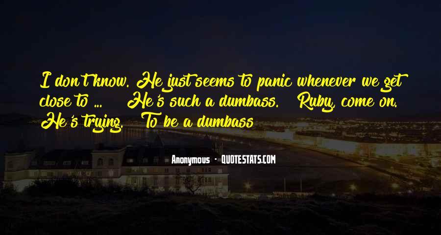 Dumbass Quotes #560598