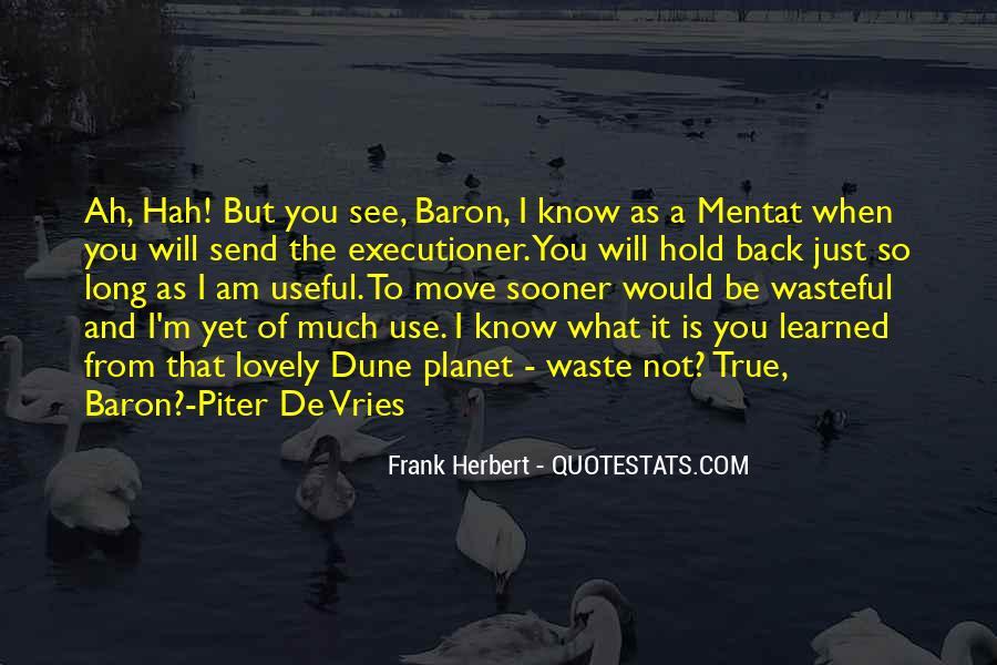 Dune Frank Herbert Quotes #130068