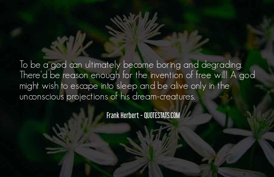 Dune Frank Herbert Quotes #1497599