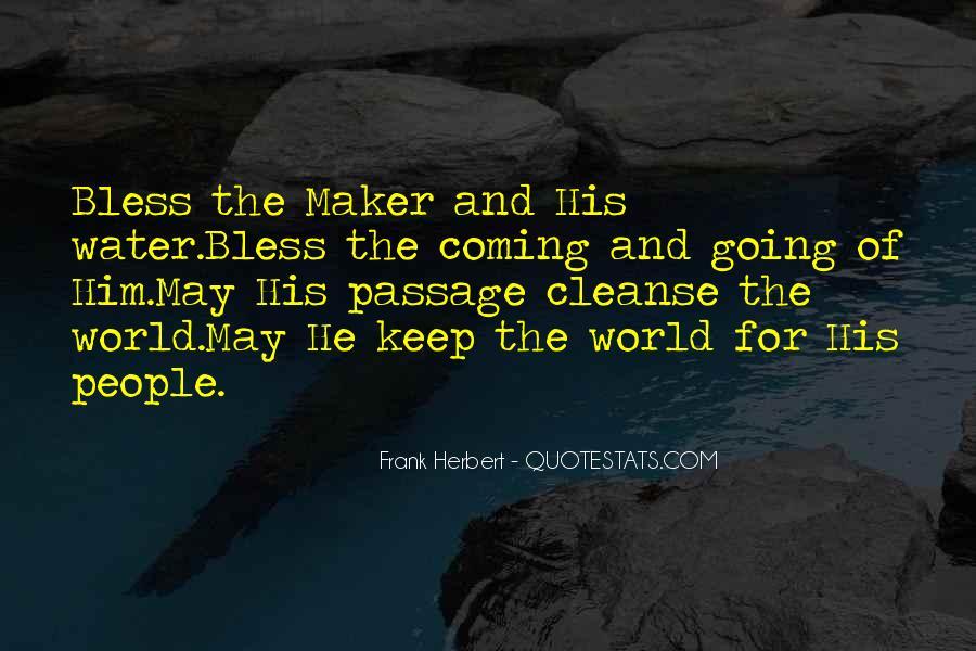 Dune Frank Herbert Quotes #1501026