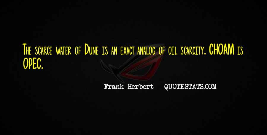 Dune Frank Herbert Quotes #597752
