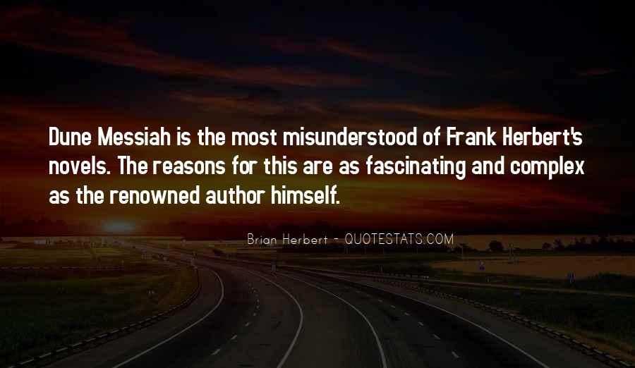 Dune Frank Herbert Quotes #916391