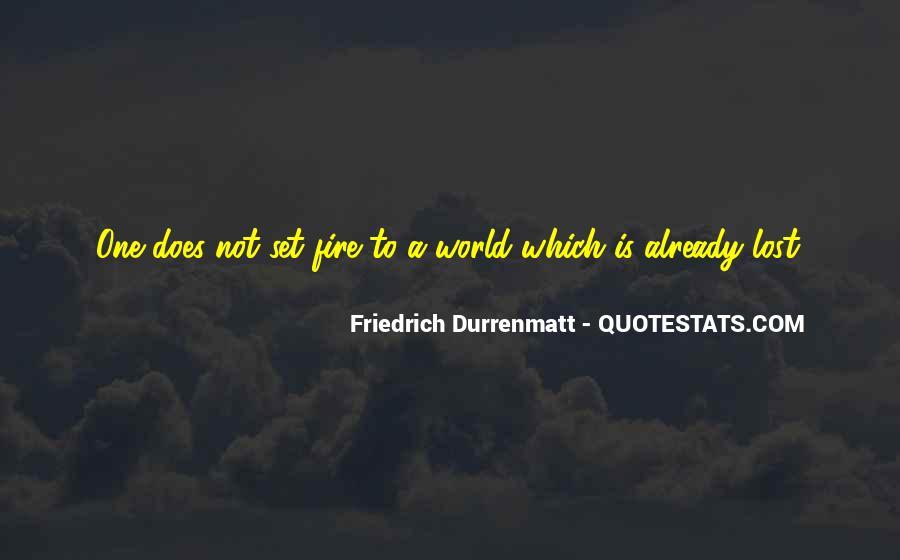Durrenmatt Quotes #314387