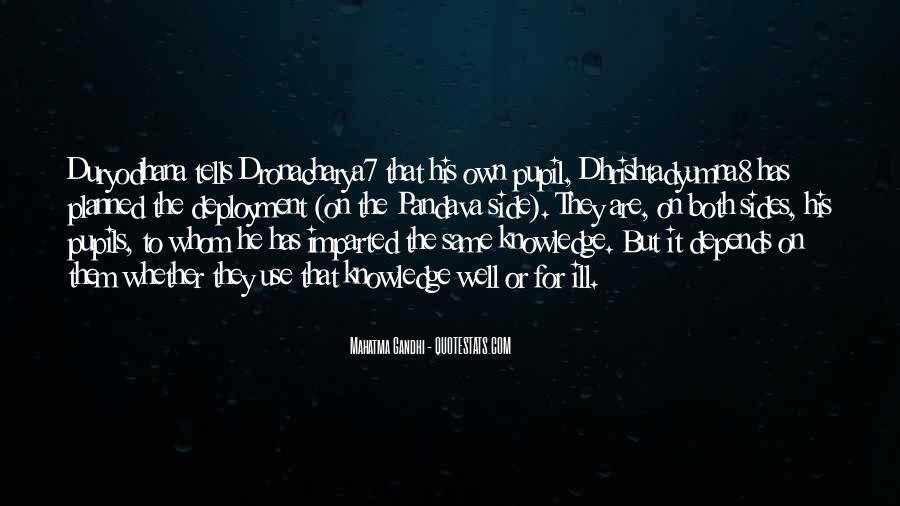 Duryodhana Quotes #1462606