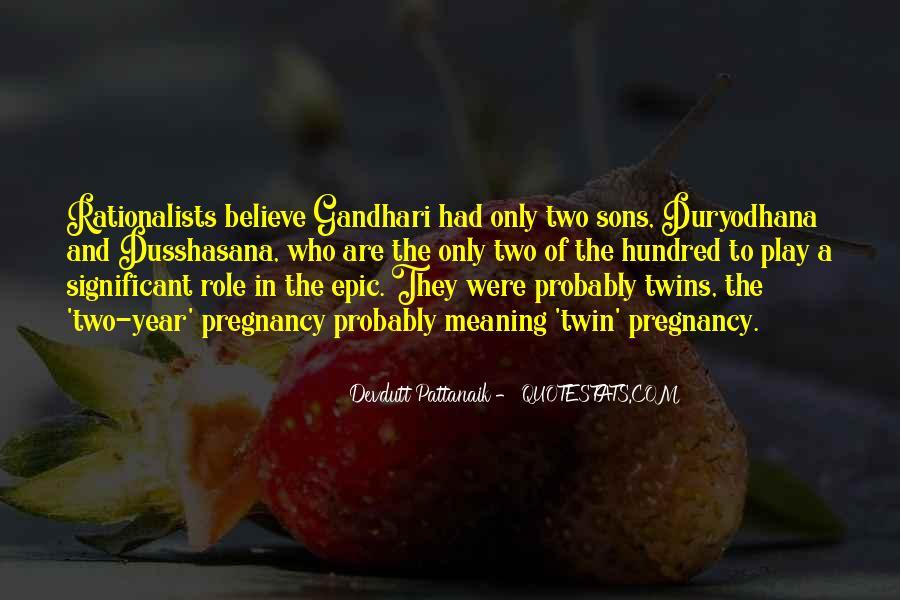 Duryodhana Quotes #1667815