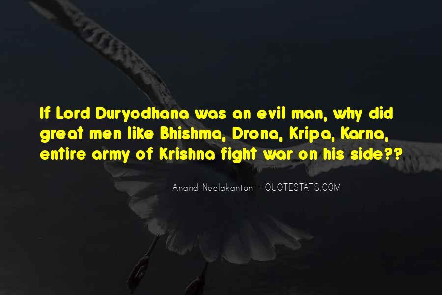 Duryodhana Quotes #89487