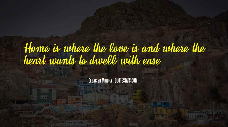 Dwell Quotes #64995