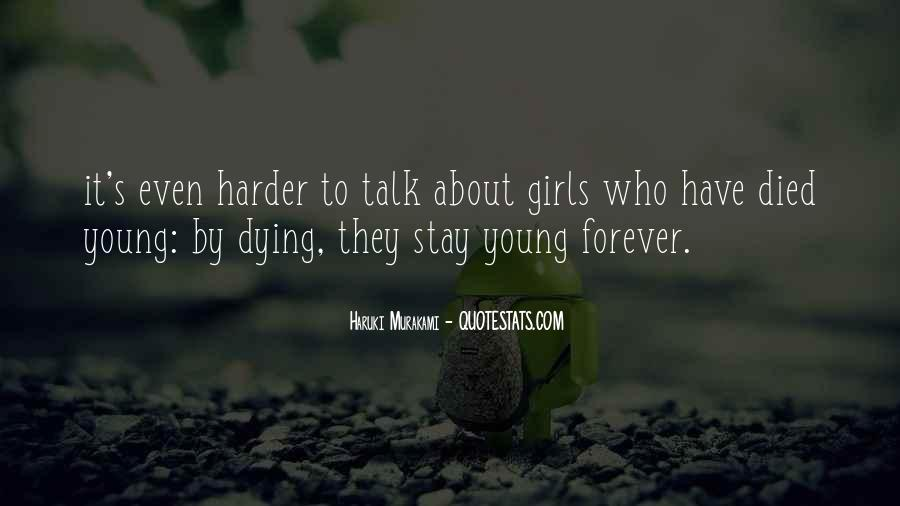 Dying Too Young Quotes #448998