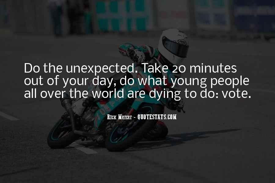 Dying Too Young Quotes #461114