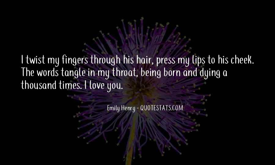 Dying Your Hair Quotes #1765488