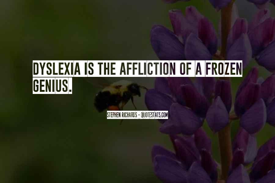 Dyslexia Awareness Quotes #1668319
