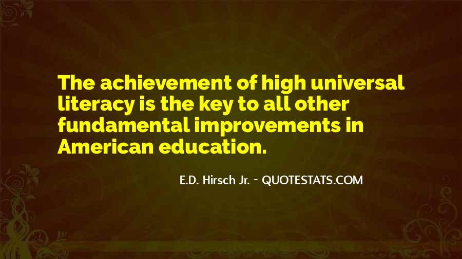 E.d. Hirsch Quotes #1053673