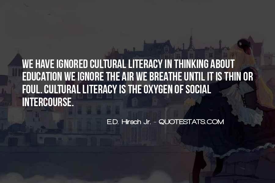 E.d. Hirsch Quotes #1261578