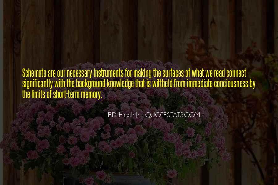 E.d. Hirsch Quotes #783129