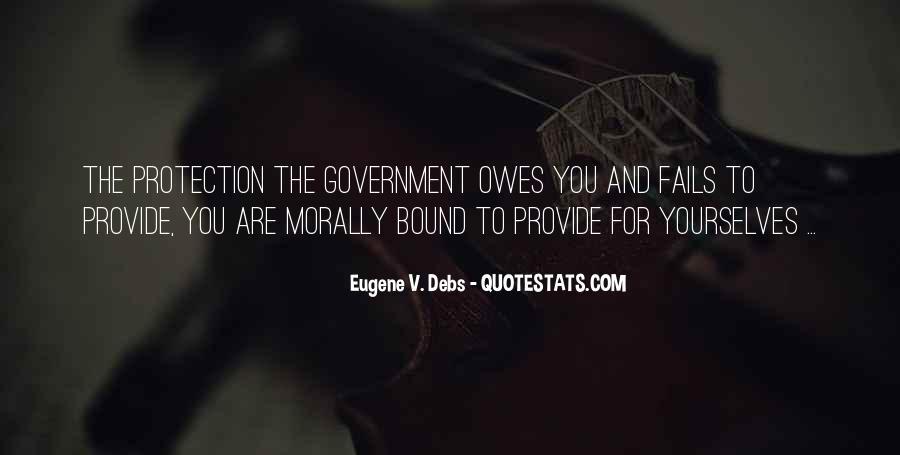 E.v. Debs Quotes #182224