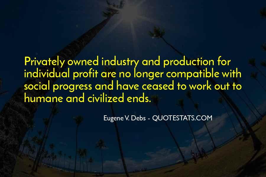 E.v. Debs Quotes #484143