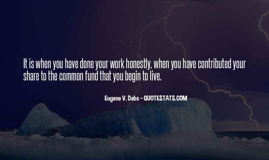 E.v. Debs Quotes #569142