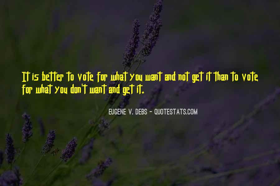 E.v. Debs Quotes #777395