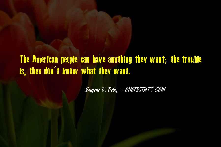 E.v. Debs Quotes #877811
