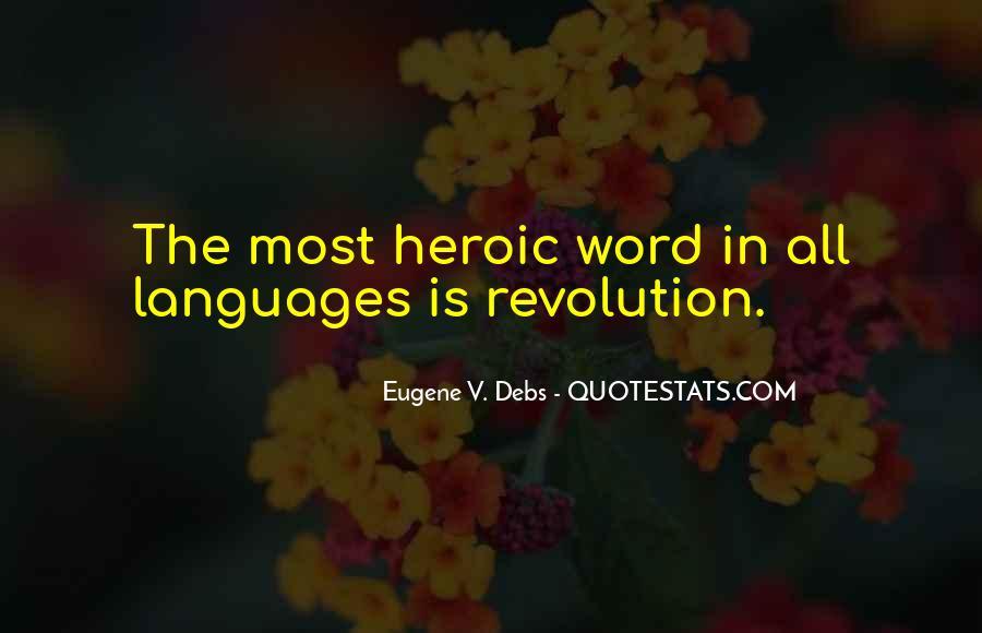 E.v. Debs Quotes #923261
