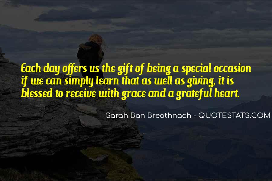 Each Day Is Special Quotes #1005784