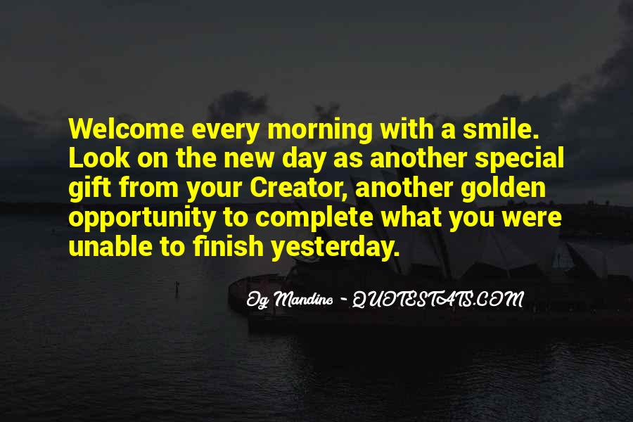 Each Day Is Special Quotes #335036