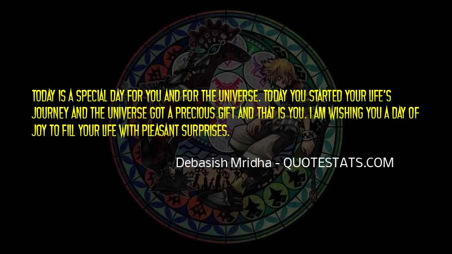 Each Day Is Special Quotes #40270