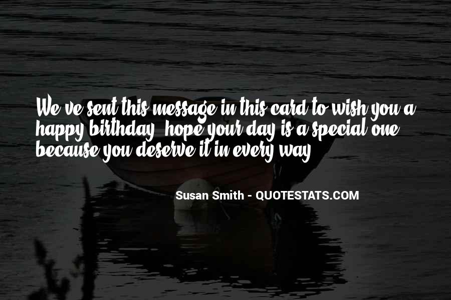 Each Day Is Special Quotes #83429