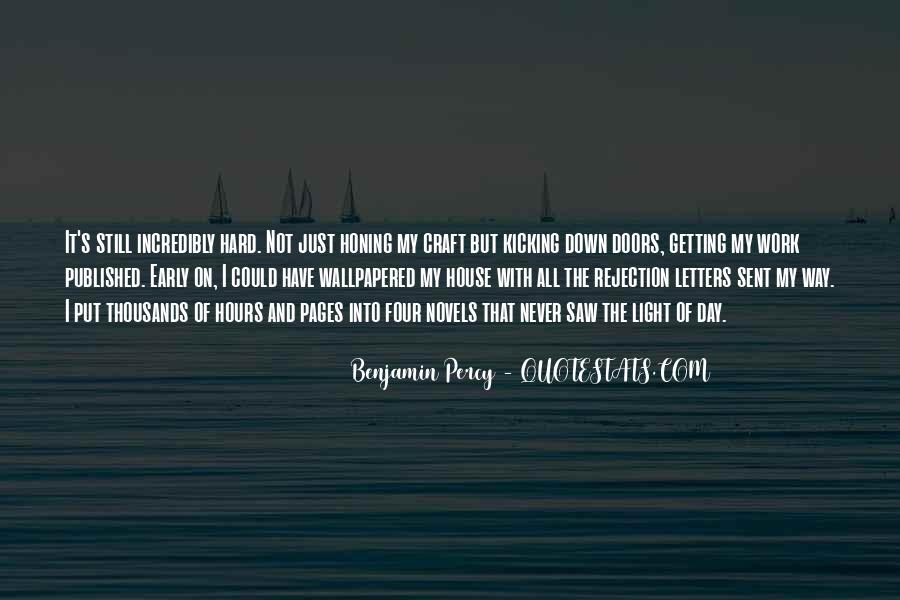 Early Doors Quotes #918185