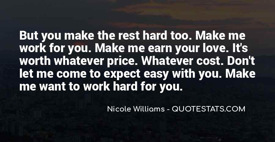 Earn Me Quotes #1085764