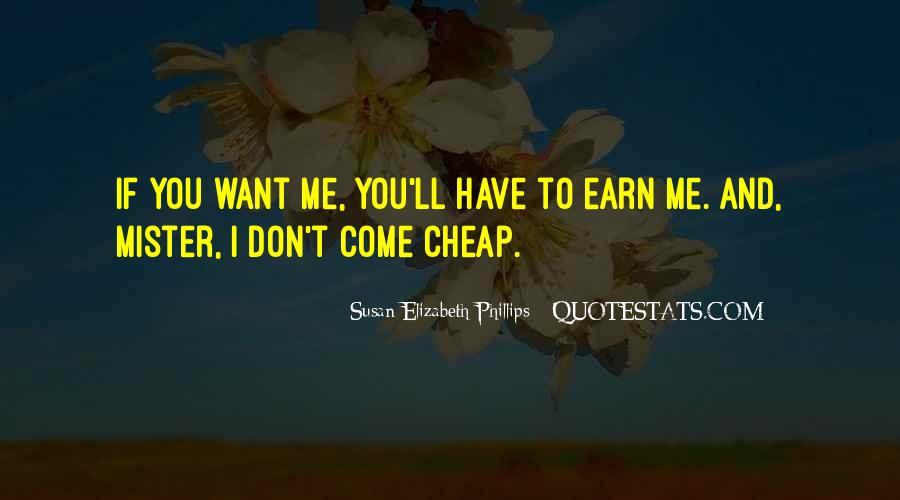 Earn Me Quotes #223349