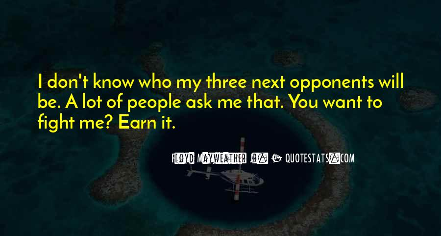 Earn Me Quotes #306997