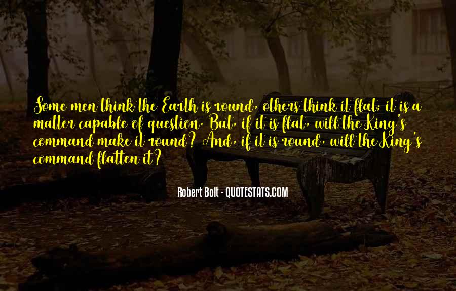 Earth Is Flat Quotes #196654