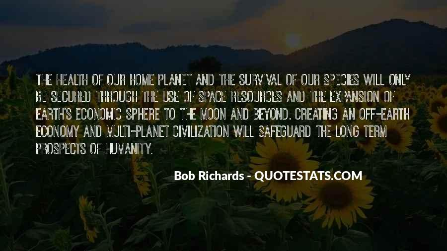 Earth Our Home Quotes #1133951
