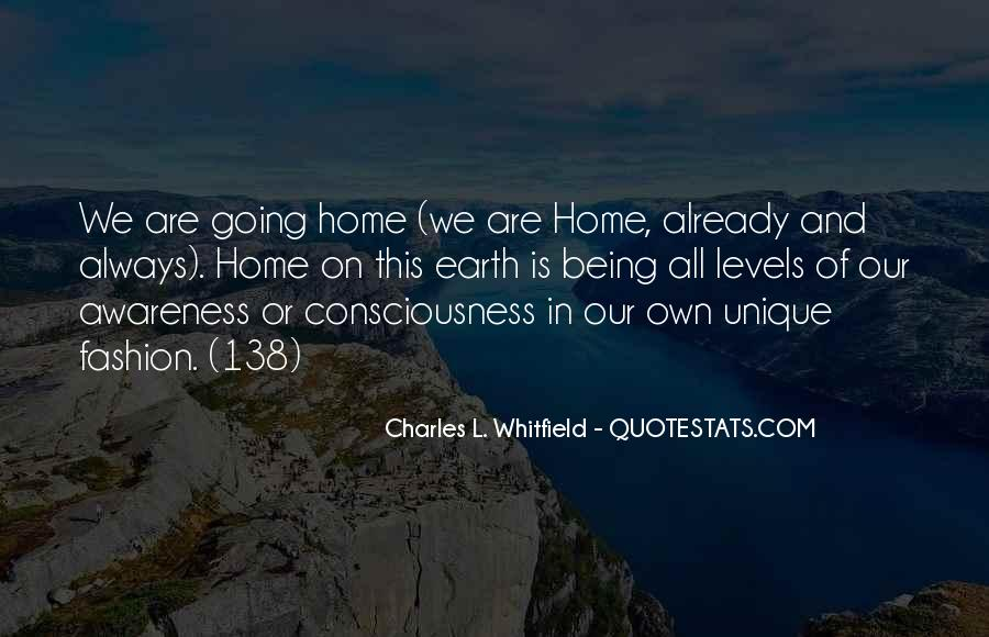 Earth Our Home Quotes #291189