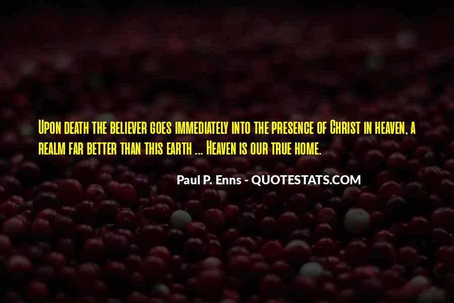 Earth Our Home Quotes #506710