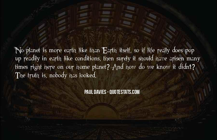 Earth Our Home Quotes #780257