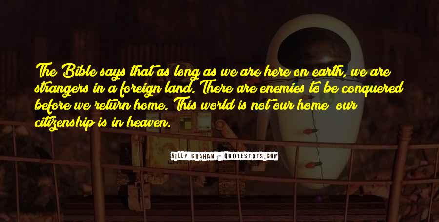 Earth Our Home Quotes #916404
